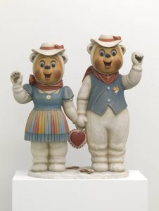 Winter Bears 1988 by Jeff Koons born 1955