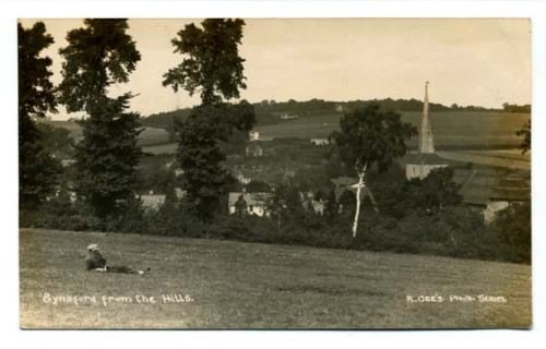 Very near where I was born - but this is probably 1900